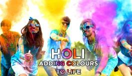 Holi – Adding Colours to Life