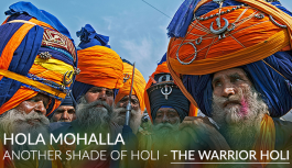 Hola Mohalla – Another shade of Holi- The Warrior Holi