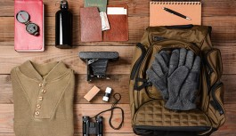 A packing check list while going on a safari