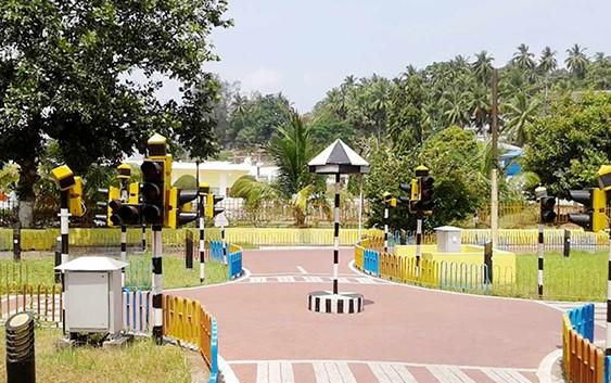 Children-Traffic-park