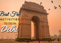 BEST FREE ACTIVITIES TO DO IN DELHI